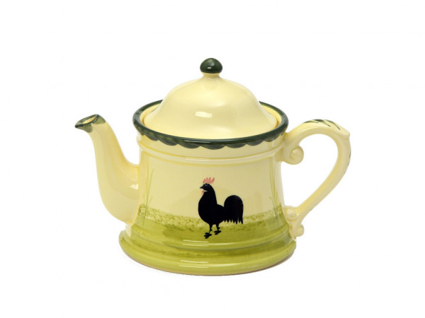 Zeller Keramik Hahn und Henne Teekanne 1,00 l