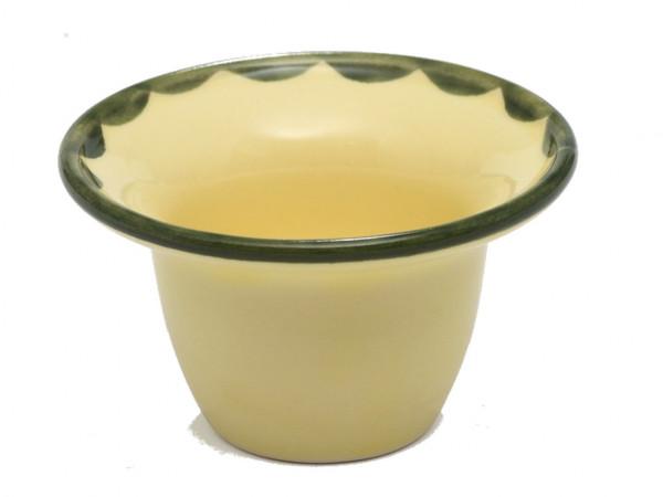Zeller Keramik Hahn und Henne Eierbecher 5 cm