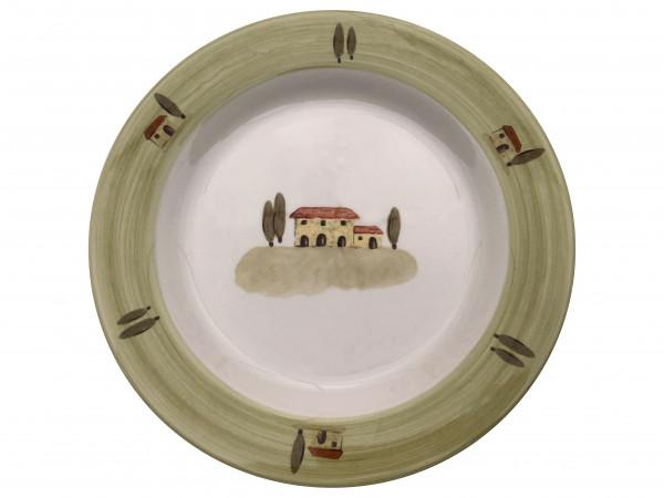 Zeller Keramik Bella Toscana Teller flach (Volldeko) 28 cm