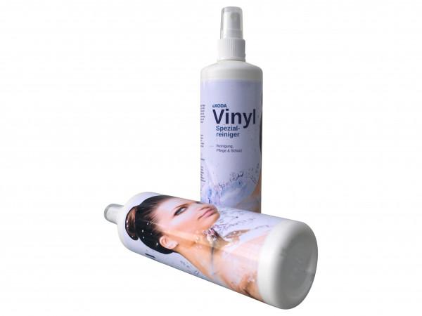 eXODA Vinylreiniger Spezialcleaner für Inkontinenzlaken und Wasserbetten 250 ml mit Pumpzerstäuber Vinylpflege