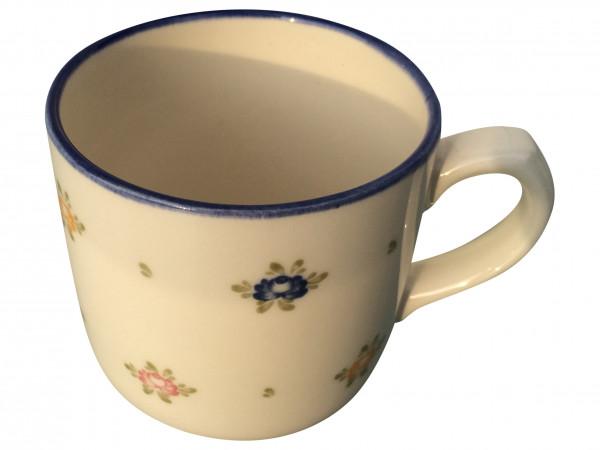 Zeller Keramik Petite Rose Kaffeebecher 0,30 l