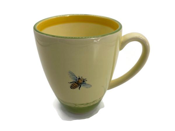 Zeller Keramik Biene Milchkaffee Obertasse 0,35 l