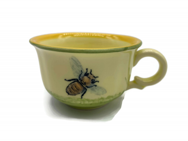 Zeller Keramik Espresso Tasse Biene