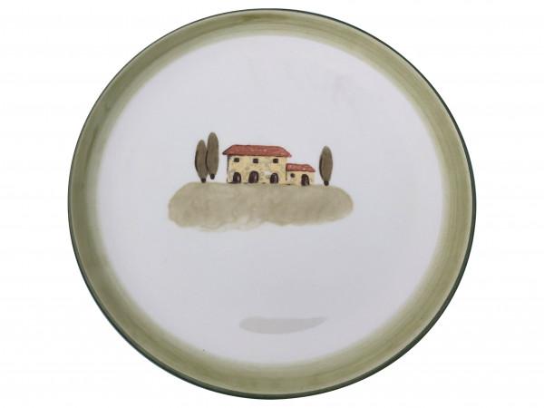 Zeller Keramik Bella Toscana Cup Teller flach 21 cm