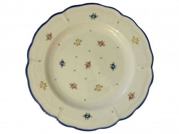 Zeller Keramik Petite Rose Teller flach 26 cm
