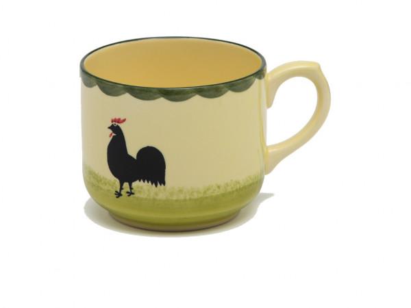 Zeller Keramik Hahn und Henne Jumbo Obertasse 0,50 l