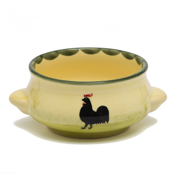 Zeller Keramik Hahn und Henne Suppenobertasse 0,25 l