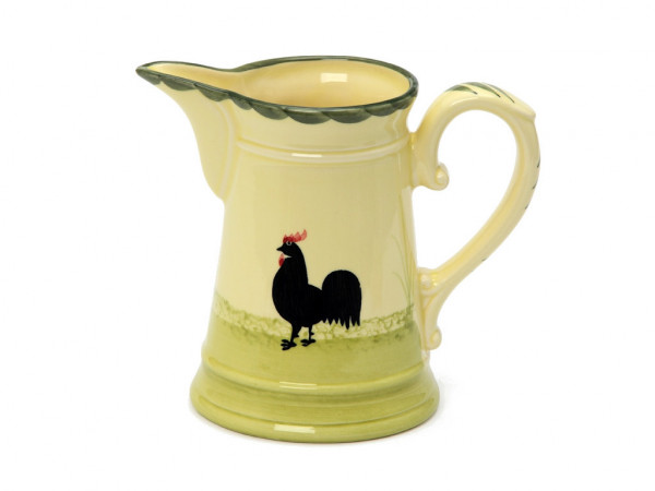 Zeller Keramik Hahn und Henne Milchtopf 0,50 l