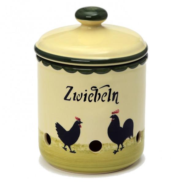 Zeller Keramik Hahn und Henne Zwiebeltopf 2,00 l