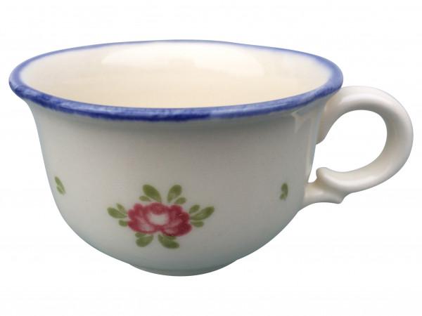 Zeller Keramik Petite Rose Espresso Obertasse 0,07 l