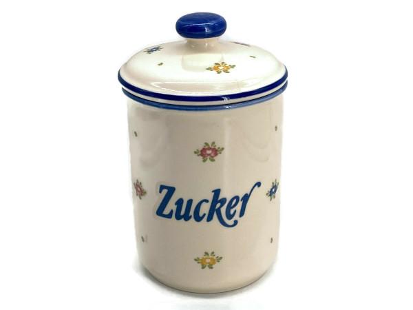 Zeller Keramik Petite Rose Vorratsdose Zucker 1,00 l