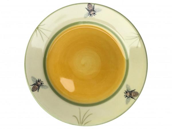 Zeller Keramik Biene Teller flach 18 cm