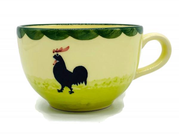 Zeller Keramik Hahn und Henne Obertasse (Schale) 0,20 l