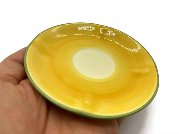 Zeller Keramik Biene Espresso Untertasse 12 cm