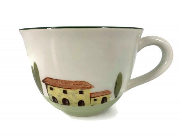 Zeller Keramik Bella Toscana Cappuccino Obertasse 0,22 l