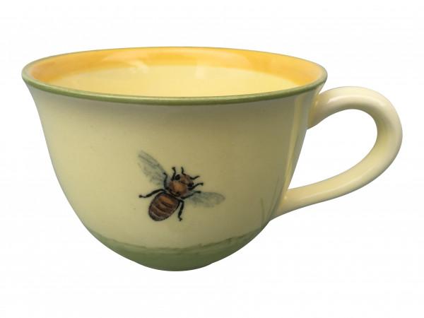 Zeller Keramik Biene Cappuccino Obertasse 0,22 l