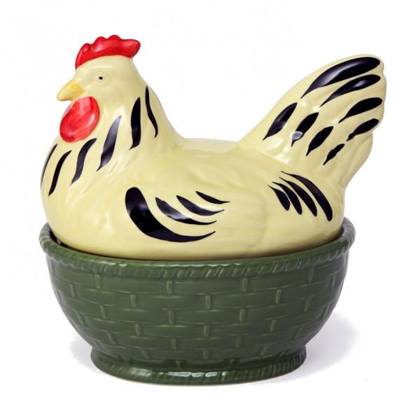 Zeller Keramik Hahn und Henne Suppenterrine Henne 1,50 l