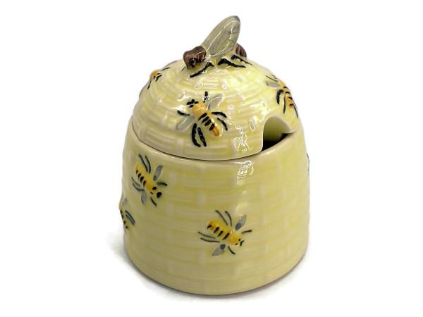 Zeller Keramik Biene Honigdose (Bienenkorb) 0,18 l