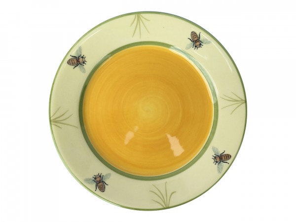 Zeller Keramik Biene Teller flach 21 cm