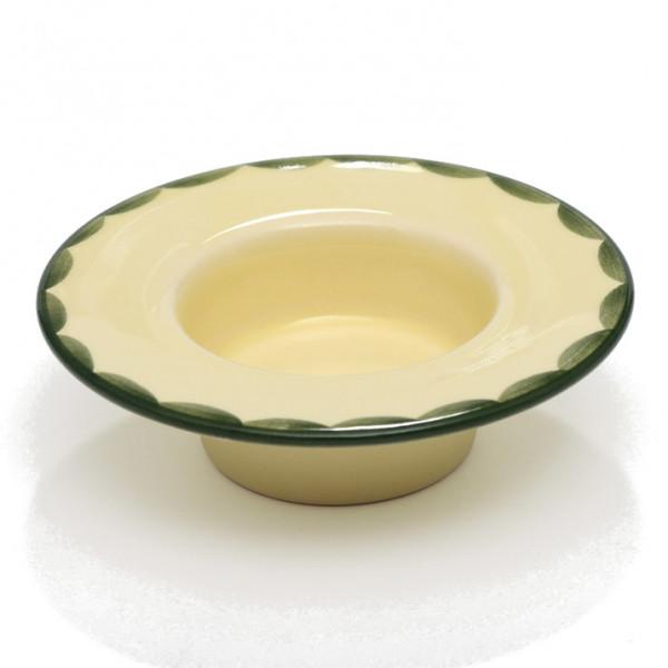 Zeller Keramik Hahn und Henne Teelicht 9 cm