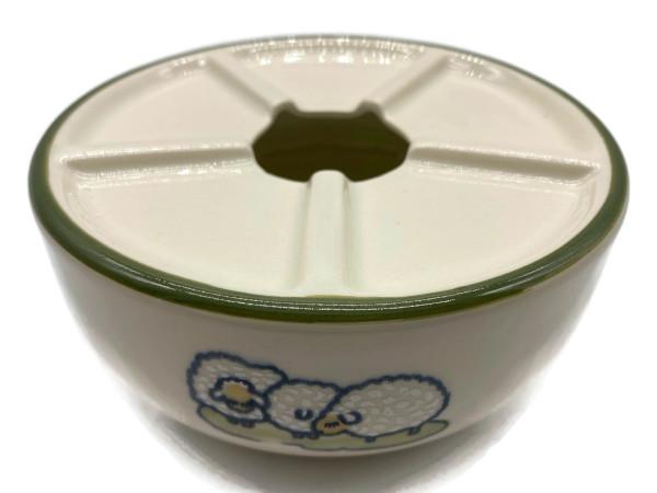 Zeller Keramik Schäfchen Teewärmer Stövchen im Dekor 13 cm
