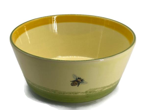 Zeller Keramik Biene Schüssel konisch 19 cm