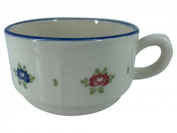 Zeller Keramik Petite Rose Obertasse, stapelbar 0,18 l