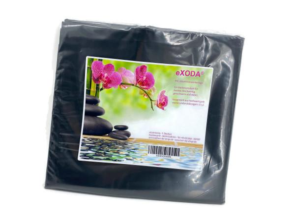 Inkontinenzlaken Unterlaken Matratzenauflage schwarz 180x220 cm Inkontinenzauflage Inkontinenz-Bettlaken auch für Kinder von eXODA