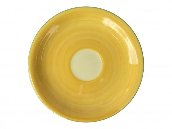 Zeller Keramik Biene Cappuccino Untertasse 16 cm