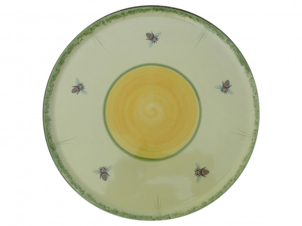 Zeller Keramik Biene Tortenplatte 30 cm
