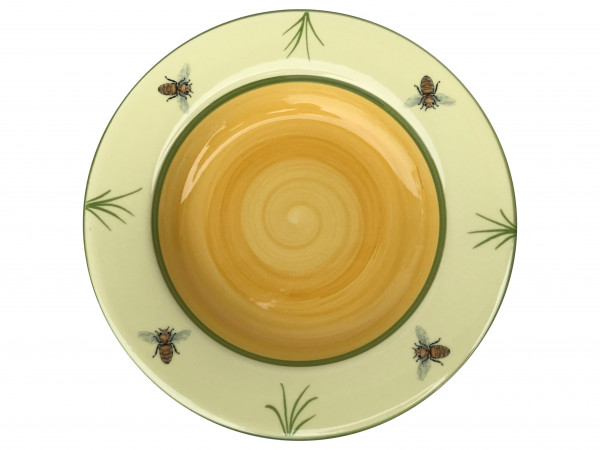 Zeller Keramik Biene Teller tief 24 cm