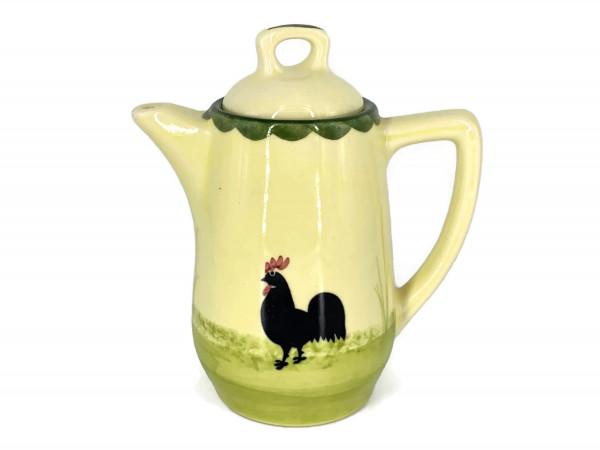 Zeller Keramik Hahn und Henne Kaffeekanne 0,35 l