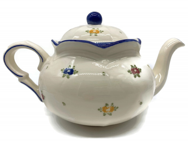 Zeller Keramik Petite Rose Teekanne 1,00 l