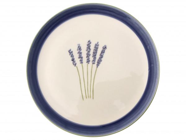 Zeller Keramik Fleur de Provence Cup Teller flach 21 cm