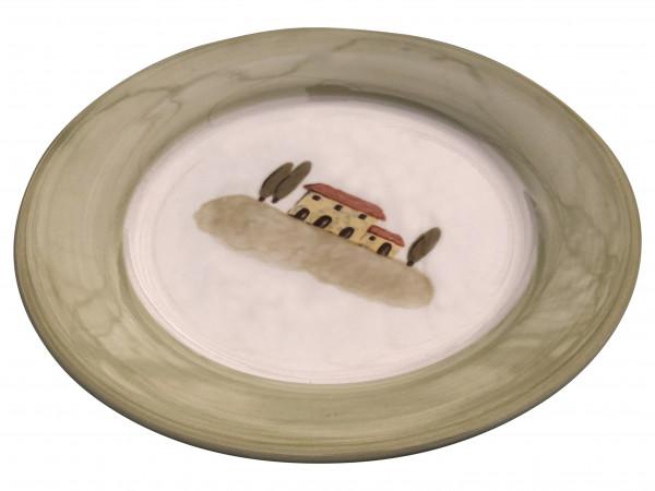 Zeller Keramik Bella Toscana Teller flach 21 cm