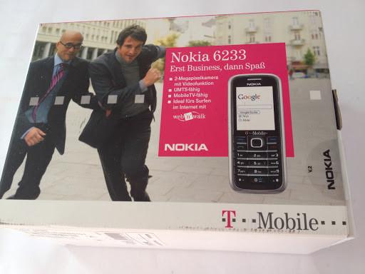 Rarität T-Mobile OVP für Nokia 6233 Box Karton (Nur Verpackung!)