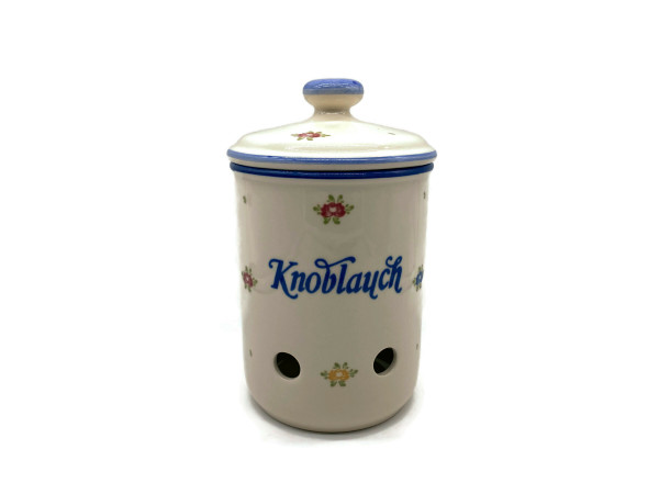 Zeller Keramik Petite Rose Knoblauchtopf 1,00 l