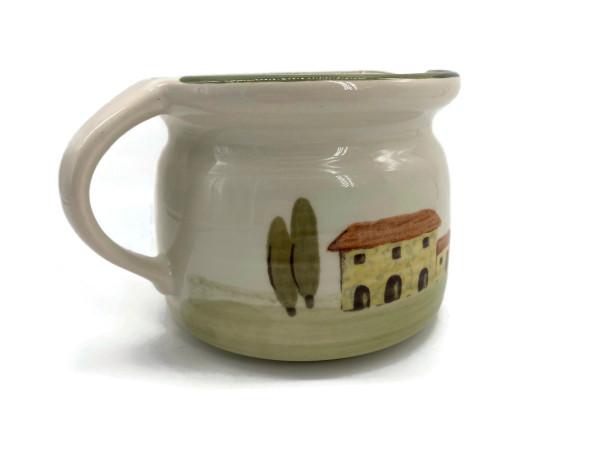 Zeller Keramik Bella Toscana Milchtopf 0,50 l