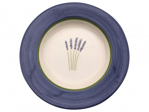Zeller Keramik Fleur de Provence Teller tief 24 cm