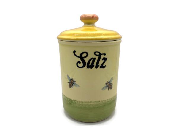 Zeller Keramik Biene Vorratsdose Salz 1,00 l