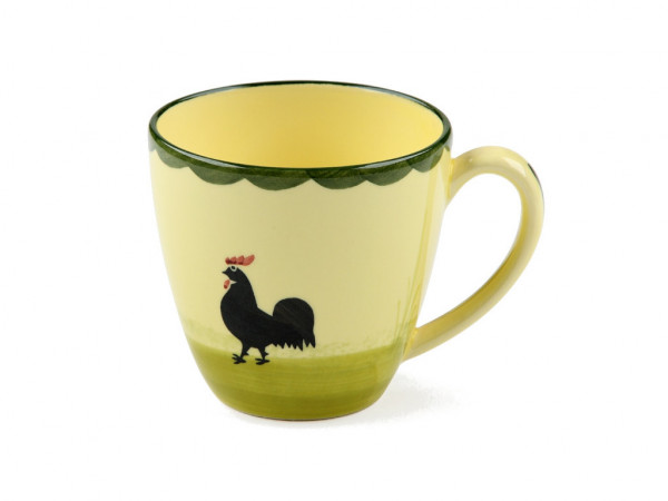 Zeller Keramik Hahn und Henne Obertasse 0,25 l