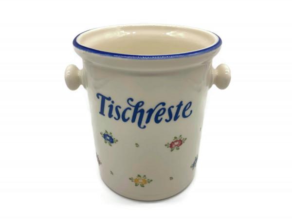 Zeller Keramik Petite Rose Tischrestebehälter 0,80 l