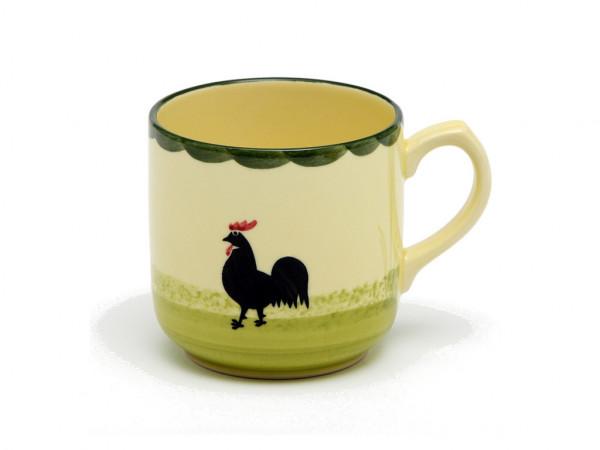 Zeller Keramik Hahn und Henne Kaffeebecher 0,30 l