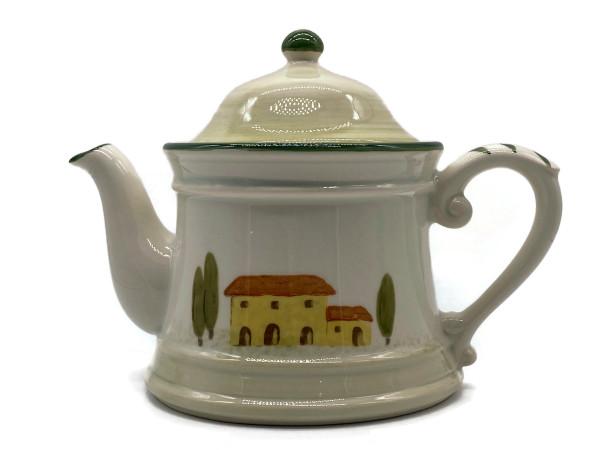 Zeller Keramik Bella Toscana Teekanne 1,00 l