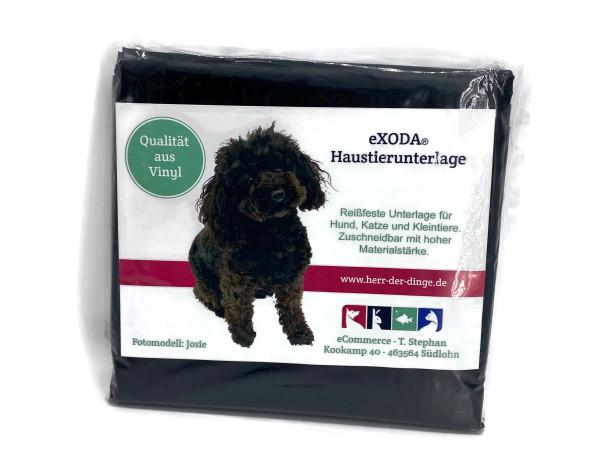 Haustier Unterlage für Hunde und Katzen 200x230 abwaschbar schwarz flexibel