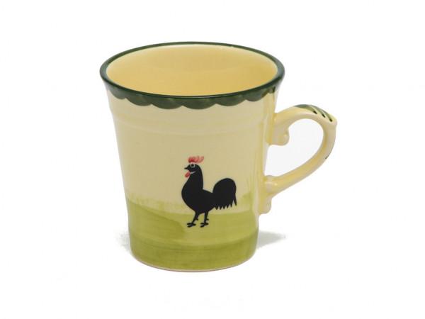 Zeller Keramik Hahn und Henne Obertasse hoch 0,20 l