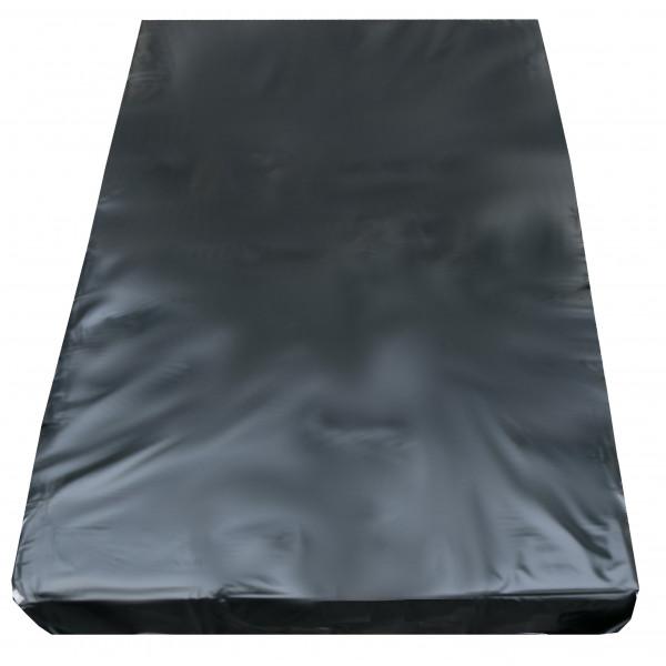 Inkontinenzlaken Unterlaken Matratzenauflage schwarz 220x220 cm Inkontinenzauflage Inkontinenz-Bettlaken Spannbettlaken auch für Kinder von eXODA