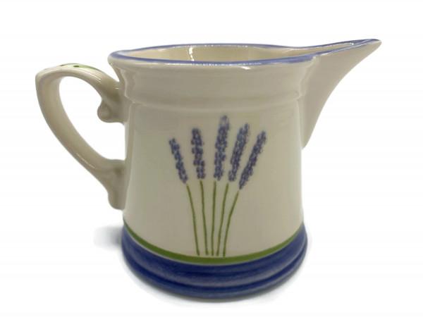 Zeller Keramik Rahmgießer Fleur de Provence Milchgießer Sahnekännchen NEU OVP