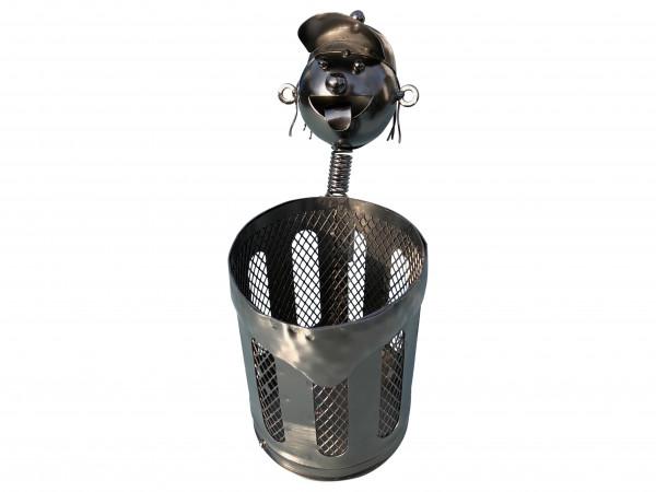 Weinflaschenhalter Felix Metall Figuren Design Deko