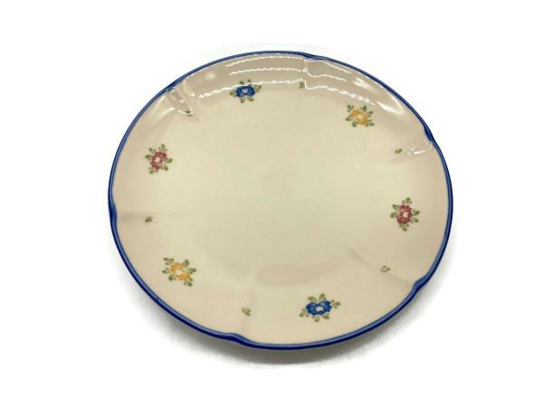 Zeller Keramik Petite Rose Suppenuntertasse 17 cm